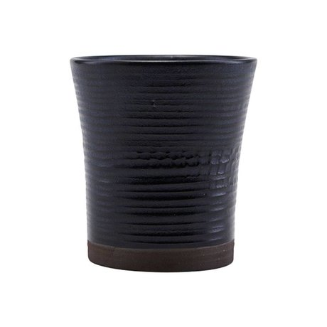 Housedoctor Cup color 11 black ceramic Ø8x9cm