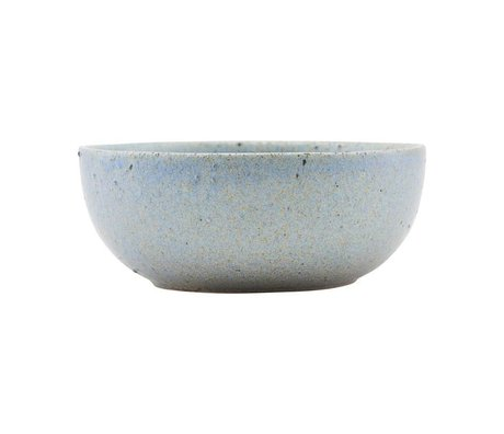 Housedoctor Bowl Diva gray blue ceramic Ø13,5cm