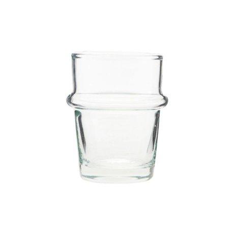 Housedoctor Verre Thé en verre transparent Ø5,2x8cm
