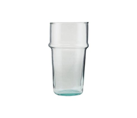 Housedoctor Glas te transparent glas Ø6,2x12cm
