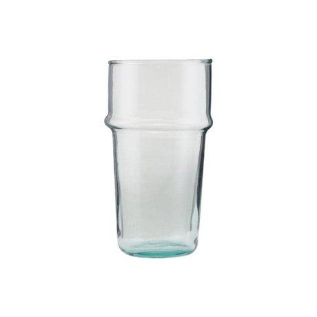 Housedoctor Té de vidrio vidrio transparente Ø6,2x12cm