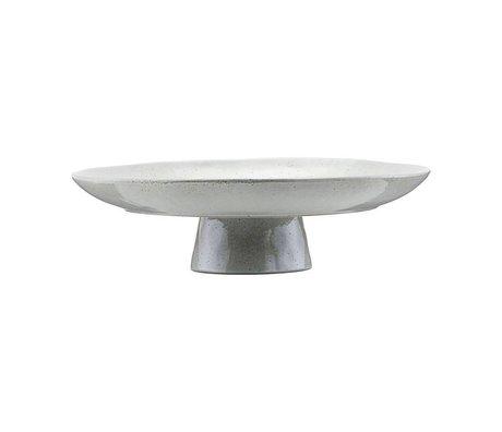 Housedoctor Kageplade gråblå tone Ø32x8,3cm