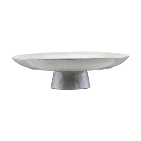 Housedoctor Cake plate gray blue tone Ø32x8,3cm