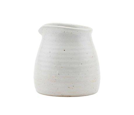 Housedoctor Brocca fatta di porcellana avorio 10cm