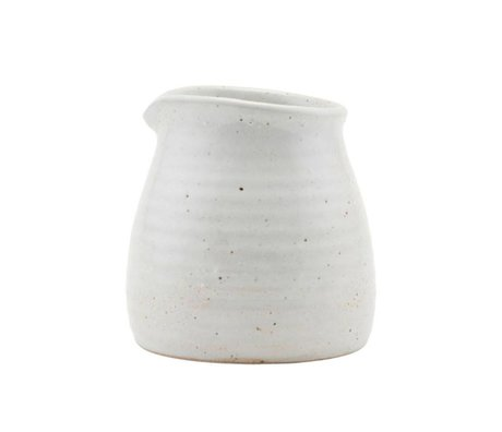 Housedoctor Pichet en porcelaine ivoire 10cm