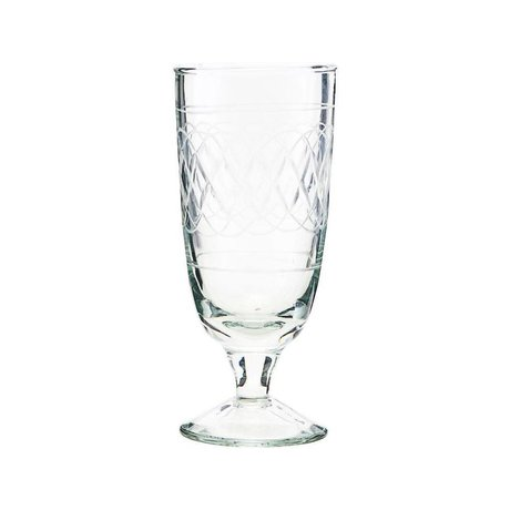 Housedoctor Bierglas Vintage Klarglas Ø6,5x15cm