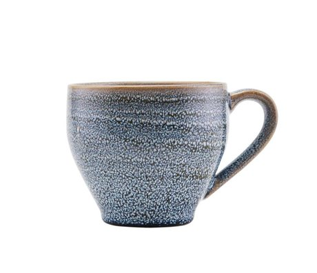 Housedoctor Krus nordgrå keramik Ø14,5x9,5cm