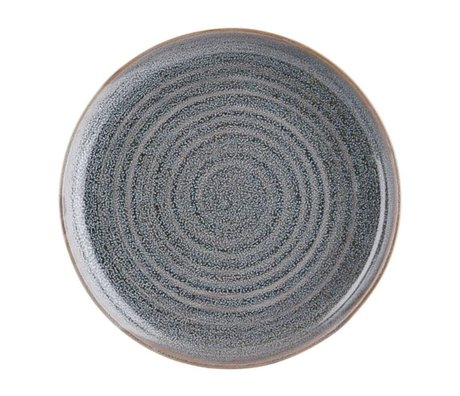 Housedoctor Dinner plate Nord Gray earthenware Ø28cm