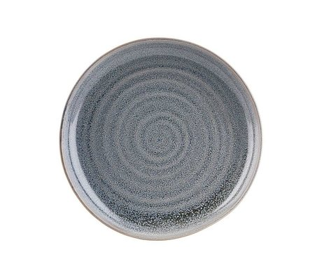 Housedoctor Plate small North Gray ceramic Ø22cm