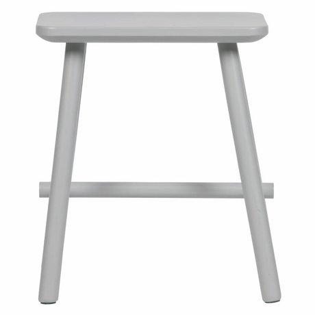 vtwonen Sgabello Butt cemento grigio legno 40x30x46,5cm