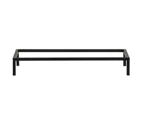 vtwonen Estuche patas metal marco negro 81x35x12cm