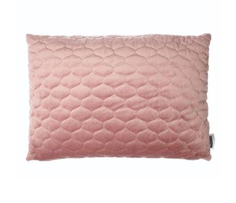 Riverdale Cojín Chelsea antiguo textil rosa 50x70cm.