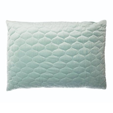 Riverdale Cushion Chelsea mint green textile 50x70cm