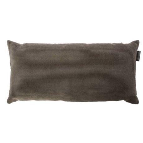 Riverdale Kissen Ribcord dunkelgraues Textil 25x50cm