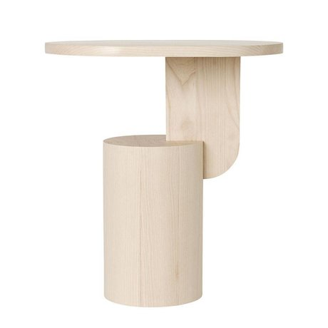 Ferm Living Sidetable Insert natural brown wood 49x34x50cm
