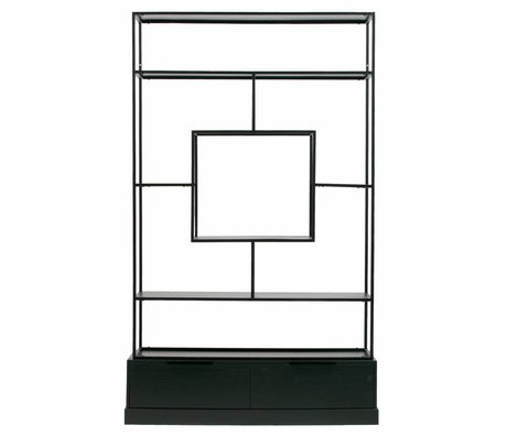 WOOOD Fons cabinet metal / wood black