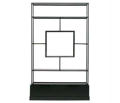 WOOOD Fons cabinet metal / wood black