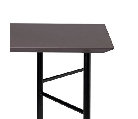 Ferm Living Tabletop Mingle Schreibtisch 135cm Taupe Linoleum 135x65x5cm