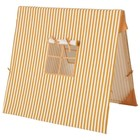 Ferm Living Zelt Senf Dünn Striped Cotton Holz 100x100cm