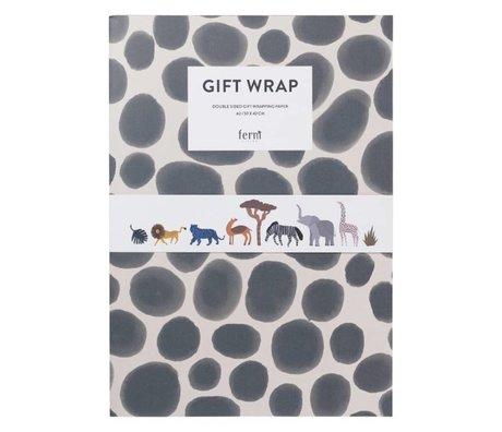 Ferm Living Geschenkverpackung Buch Geschenkverpackung Papier Kinder