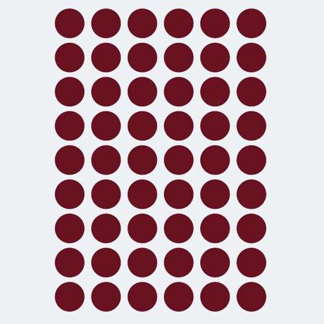 Ferm Living Wandsticker Mini Dots rot 54 Stück