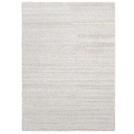 Ferm Living Carpet Ease loop broken white textile 200x300cm