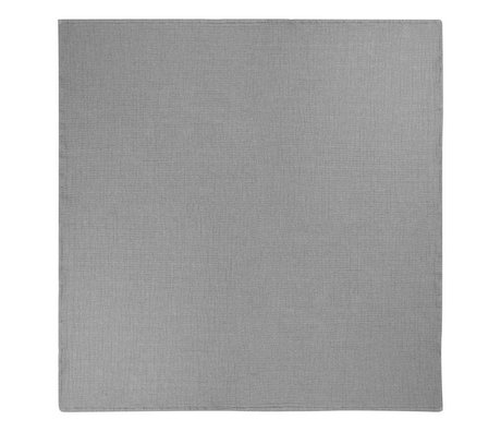 Ferm Living Bedspread Daze gray cotton 250x240cm