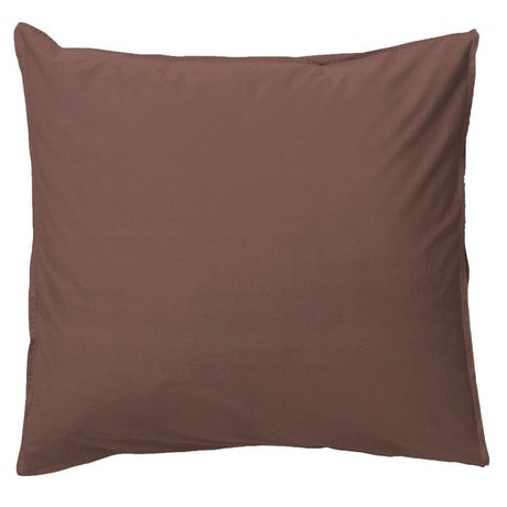 Ferm Living Pillowcase Hush cognac organic cotton 80x80cm