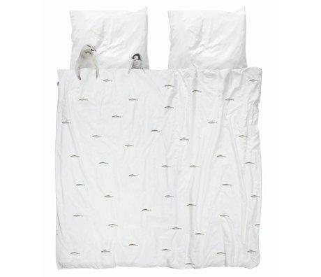 Snurk Linge de maison Artic friends en coton blanc 260x200 / 220cm + 2 / 60x70cm