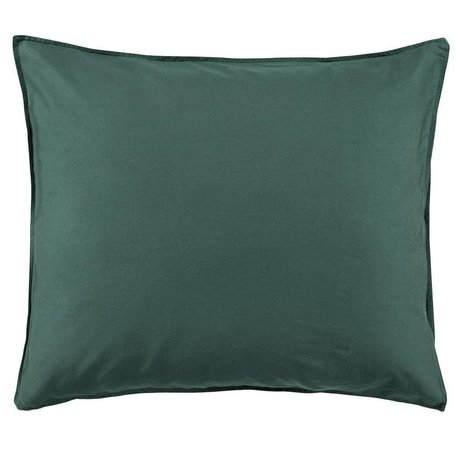 ESSENZA Cushion cover Minte green cotton satin 60x70cm