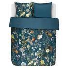 ESSENZA Bed linen Xess petrol blue cotton sateen 260x220 + 2 / 60x70cm
