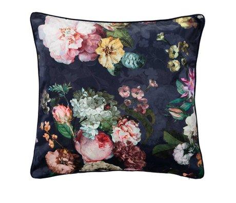 ESSENZA Pillowcase Fleur night blue blue cotton sateen 60x70cm