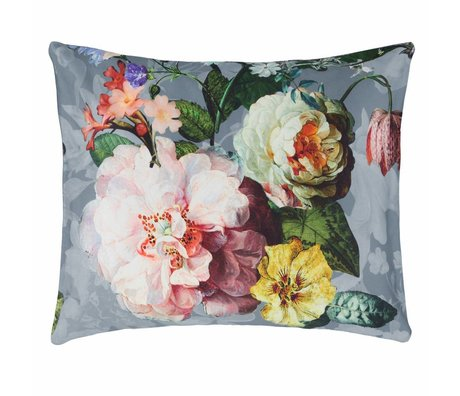 ESSENZA Pillowcase Fleur Faded blue cotton sateen 60x70cm