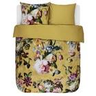 ESSENZA Copripiumino Fleur Oro Giallo Rasatello di cotone 240x220 + 2 / 60x70cm