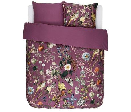 ESSENZA Duvet cover Xess Masala red cotton sateen 240x220 + 2 / 60x70cm