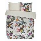 ESSENZA Bed linen Fleur Ecru white cotton satin 240x220 + 2 / 60x70cm