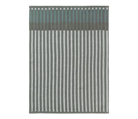 Ferm Living Tea towel Grain Jacquard green cotton 50x70cm