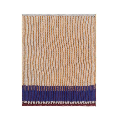 Ferm Living Geschirrtuch Akin Honiggold Baumwolle 2er Set 26x32cm