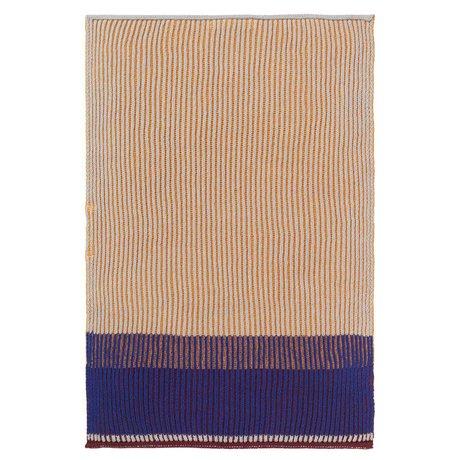Ferm Living Kitchen towel Akin honey gold cotton 35x50cm
