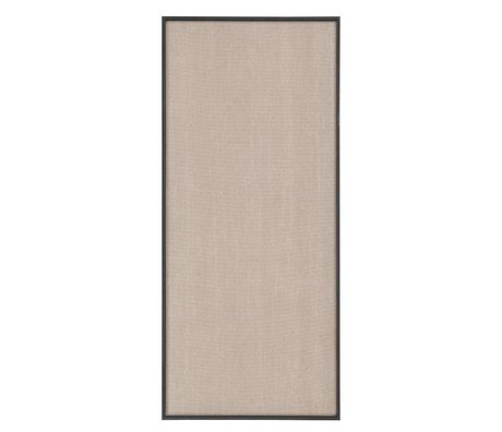 Ferm Living Pinboard Scenery beige black cotton wood 45x3,5x100cm