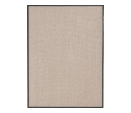 Ferm Living Pinboard Scenery beige black cotton wood 75x3,5x100cm