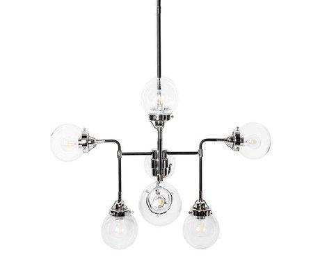 Riverdale Hængelampe Sacha sort metal 90x90x150cm