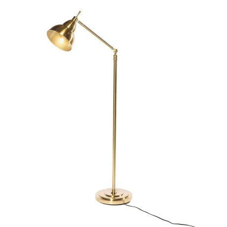 Riverdale Lampada da terra Jesse in metallo dorato 31x31x150cm