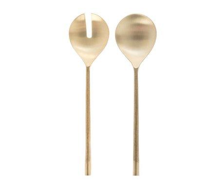 Riverdale Slacouvert couture gold metal 31cm