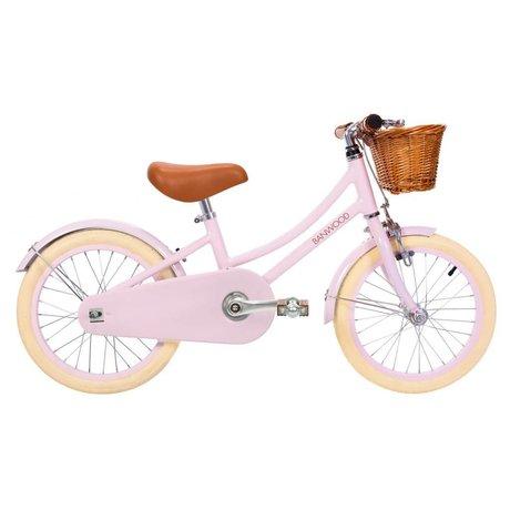 Banwood Børnecykel klassisk lyserød 99,5x23,5x56cm