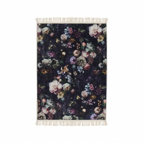 ESSENZA Carpet Fleur Night Blue Blue Polyester 120x180cm
