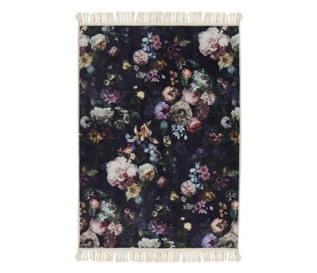 ESSENZA Carpet Fleur Night Blue Blue Polyester 180x240cm