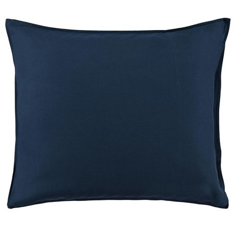 ESSENZA Kissenbezug Minte marineblau Baumwollsatin 60x70cm