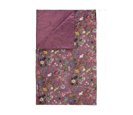 ESSENZA Bed box Xess marsala rood velvet polyester 100x240cm
