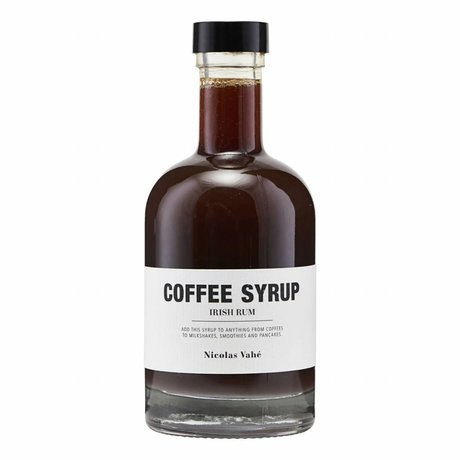 Nicolas Vahé Coffee Syrup Irish Rum 25cl
